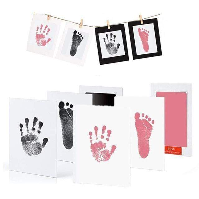 Foot and Hand Print Ink-less Kit - Daily Smiley