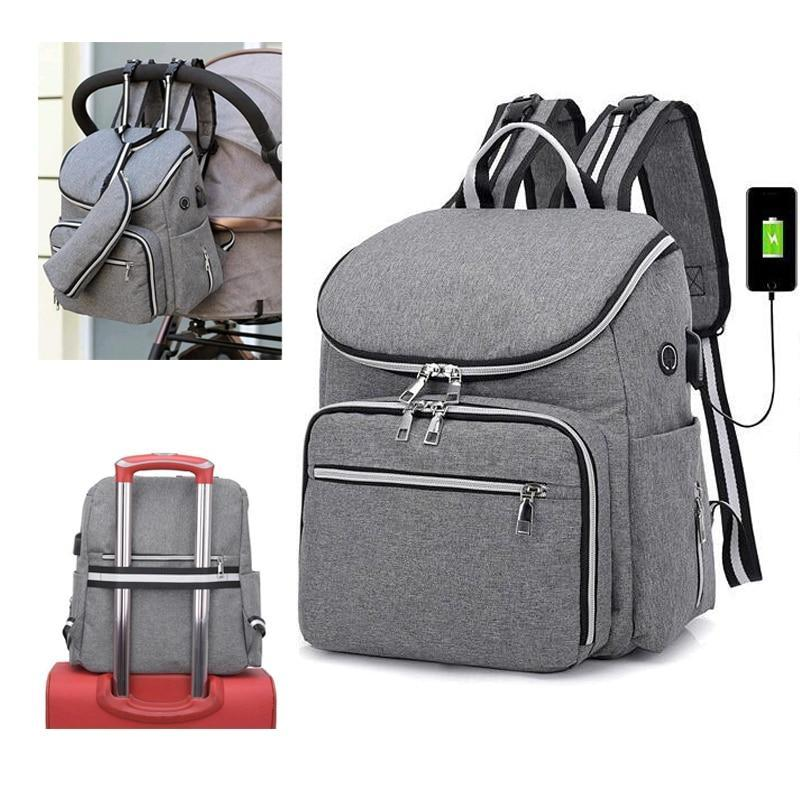 Stroller bag backpack USB - Daily Smiley