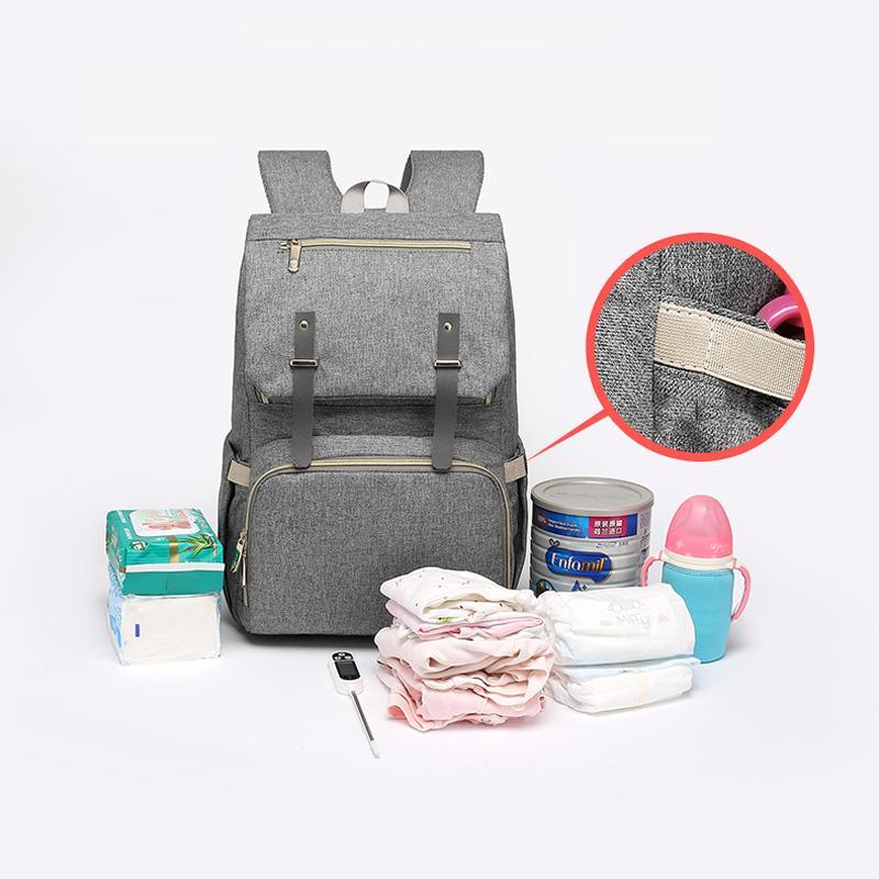 Large Diaper Bag USB Charger - 2019 Collection - Daily Smiley
