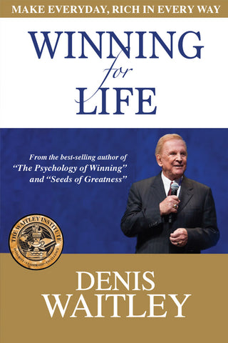 Winning for Life Book (New from Denis Waitley)