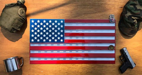 United States Flag Challenge Coin Holder