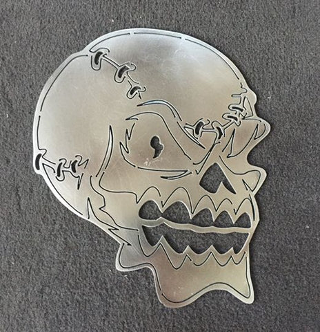 Baseball Laced Skull