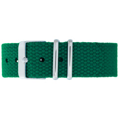 Army Canvas Strap - Silver Buckle