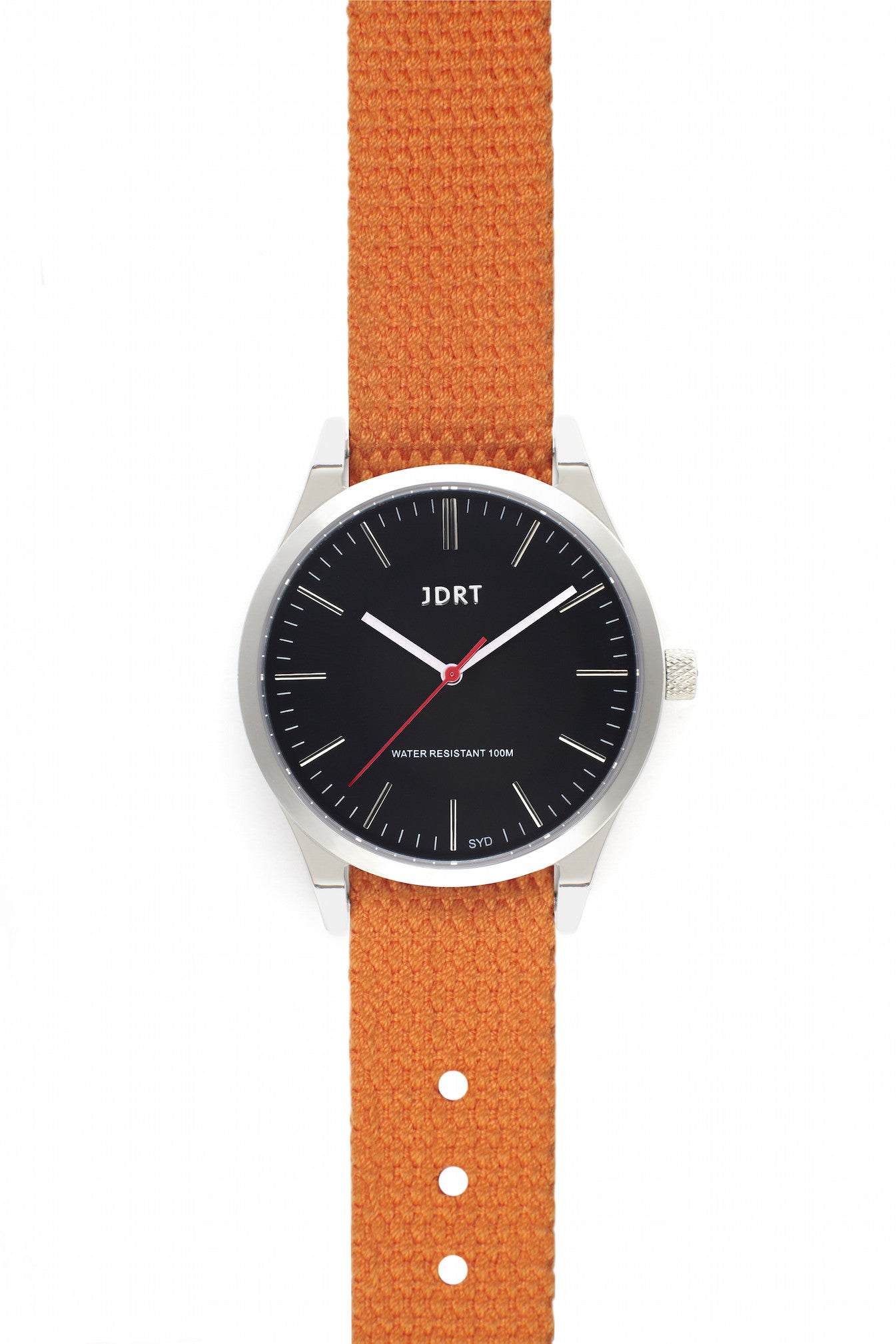 Jet Face with Hazard Canvas Watch Band