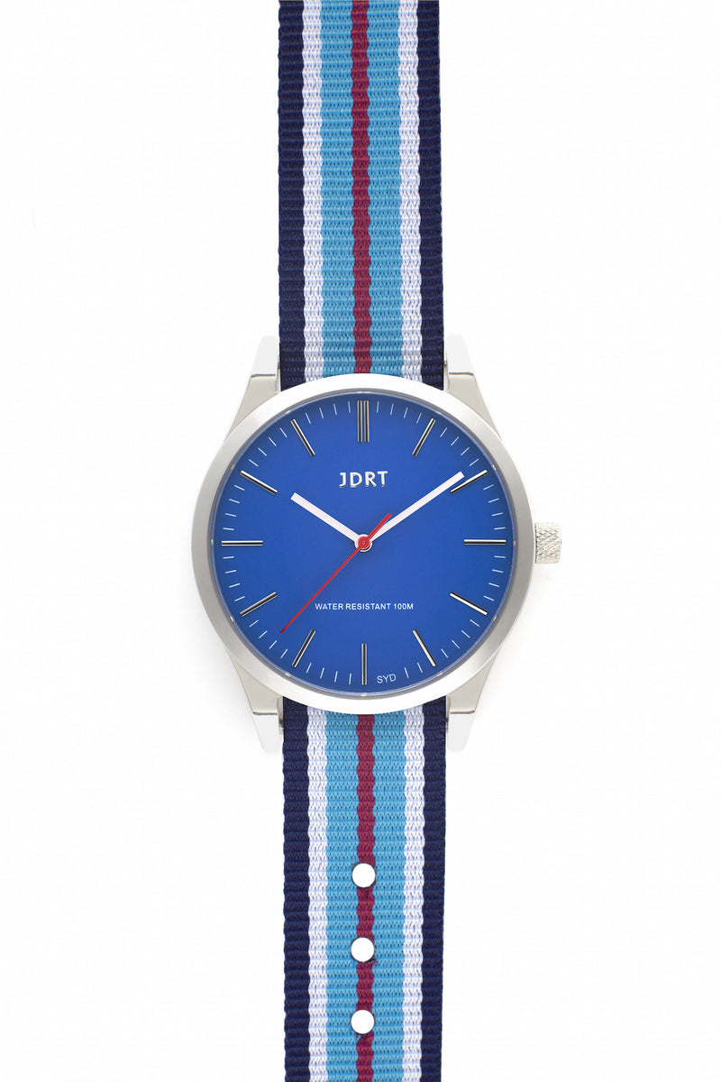 Azure Face with Darlinghurst NATO Watch Band