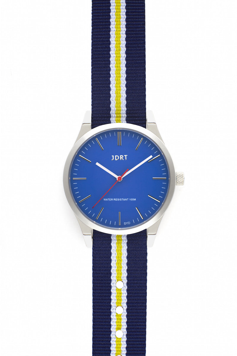 Azure Face with Paddington NATO Watch Band