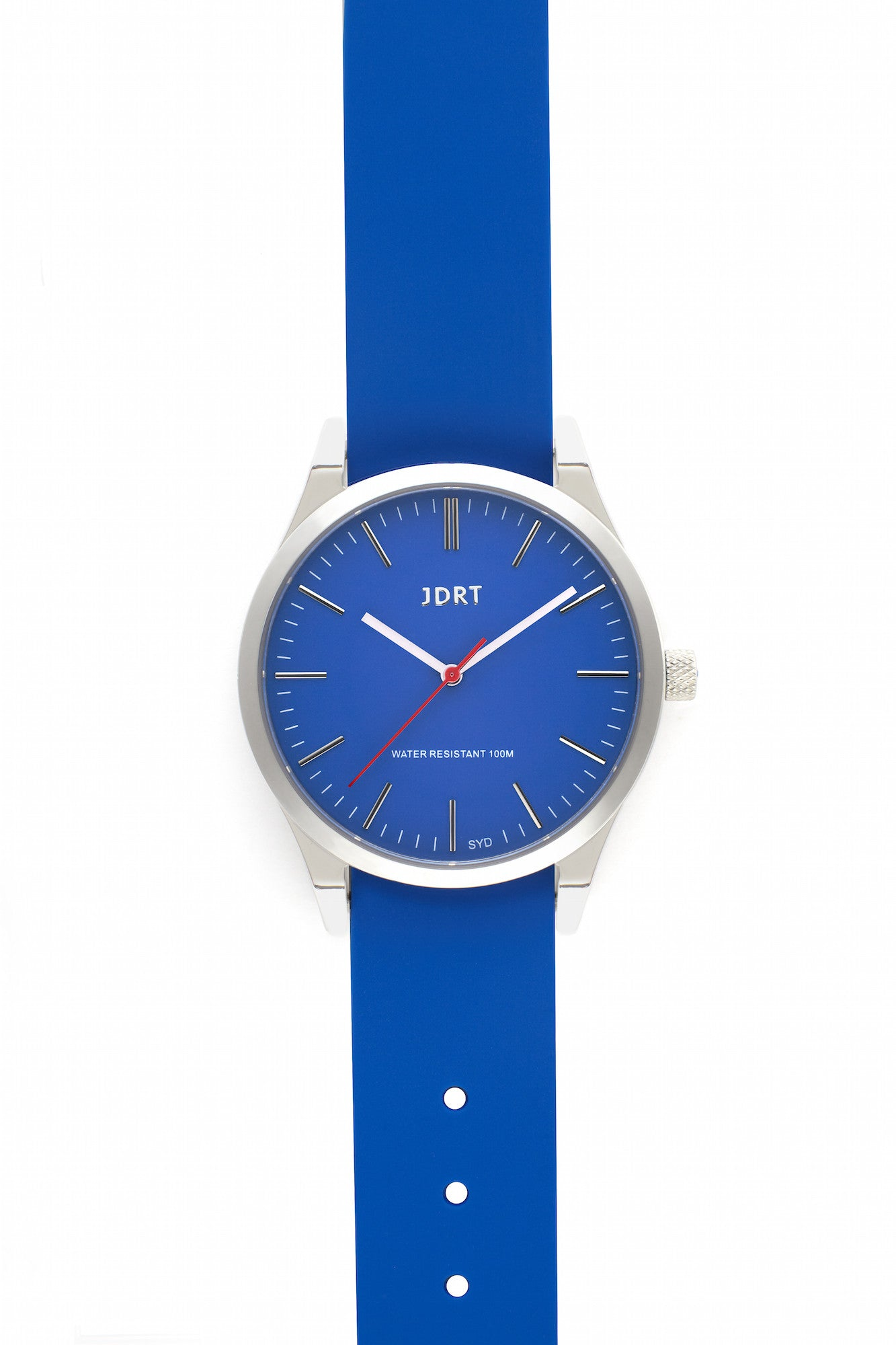 Azure Face with Marina Silicone Watch Band