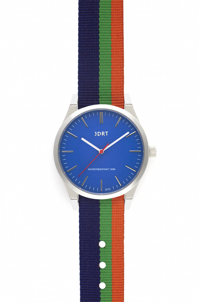 Azure Face with Kings Cross NATO Watch Band