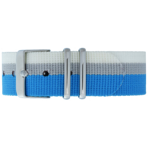 Paddington NATO Strap - Silver Buckle