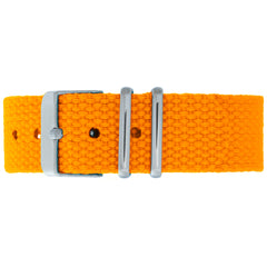 Hazard Canvas Strap - Silver Buckle