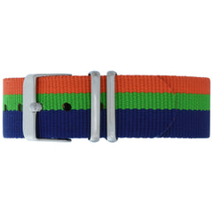 Kings Cross NATO Strap - Silver Buckle
