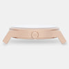 Matte Rose Gold / White