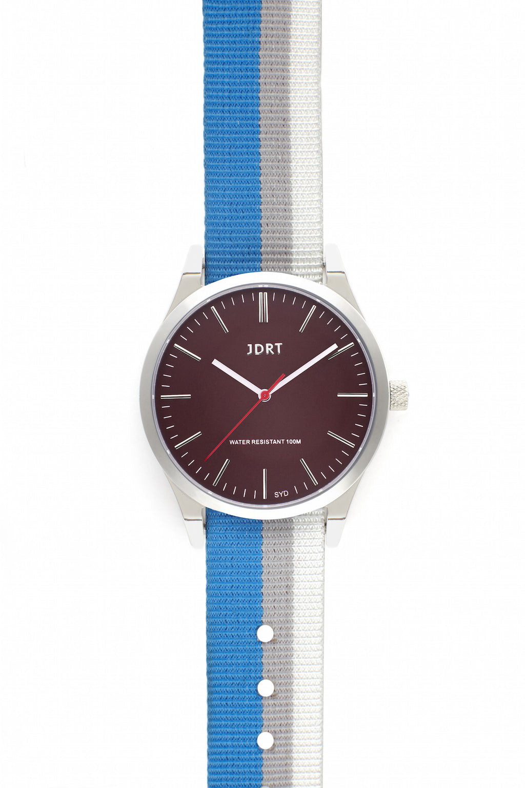 Oxblood Face with Bondi NATO Watch Band