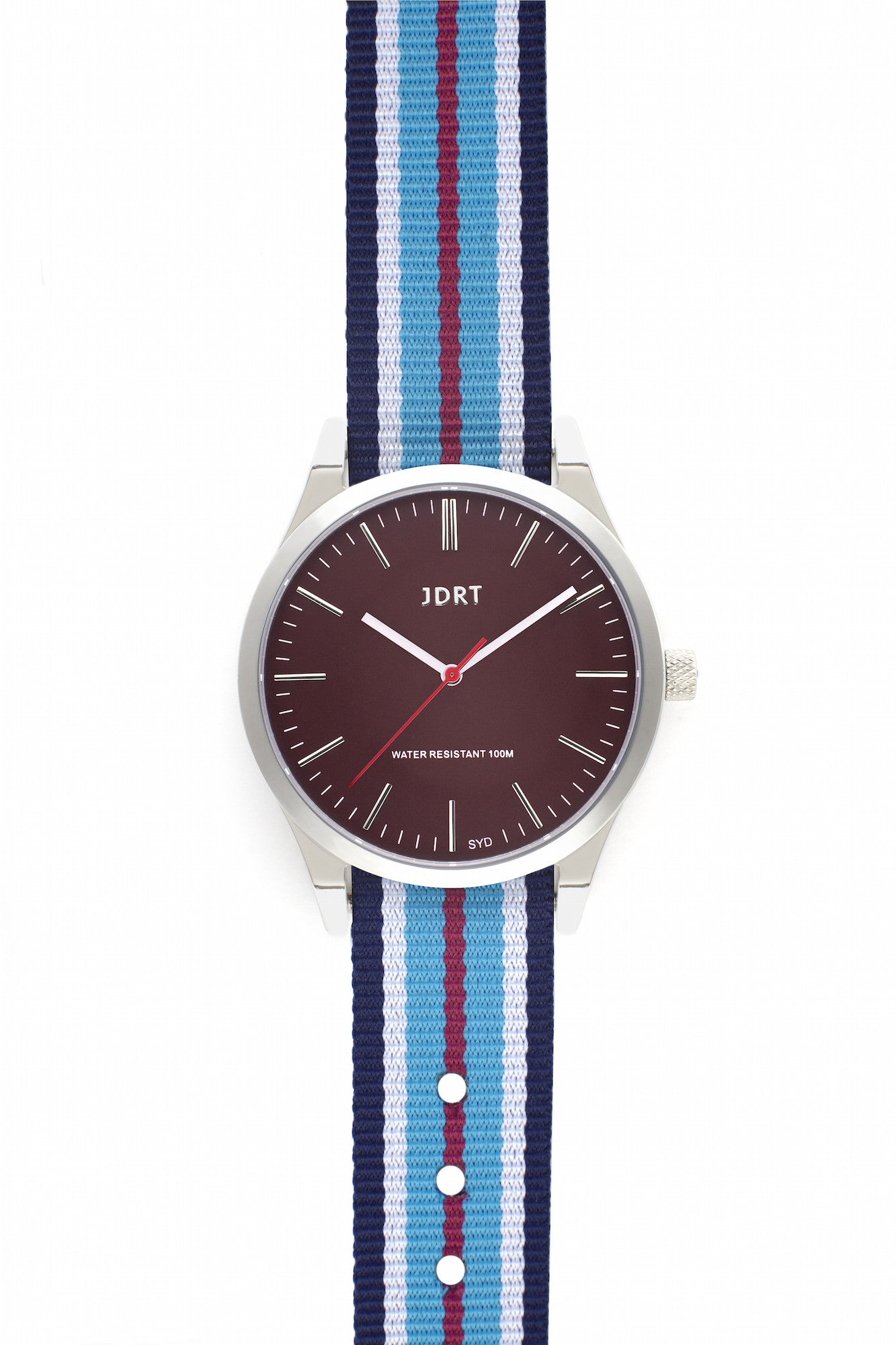 Oxblood Face with Darlinghurst NATO Watch Band