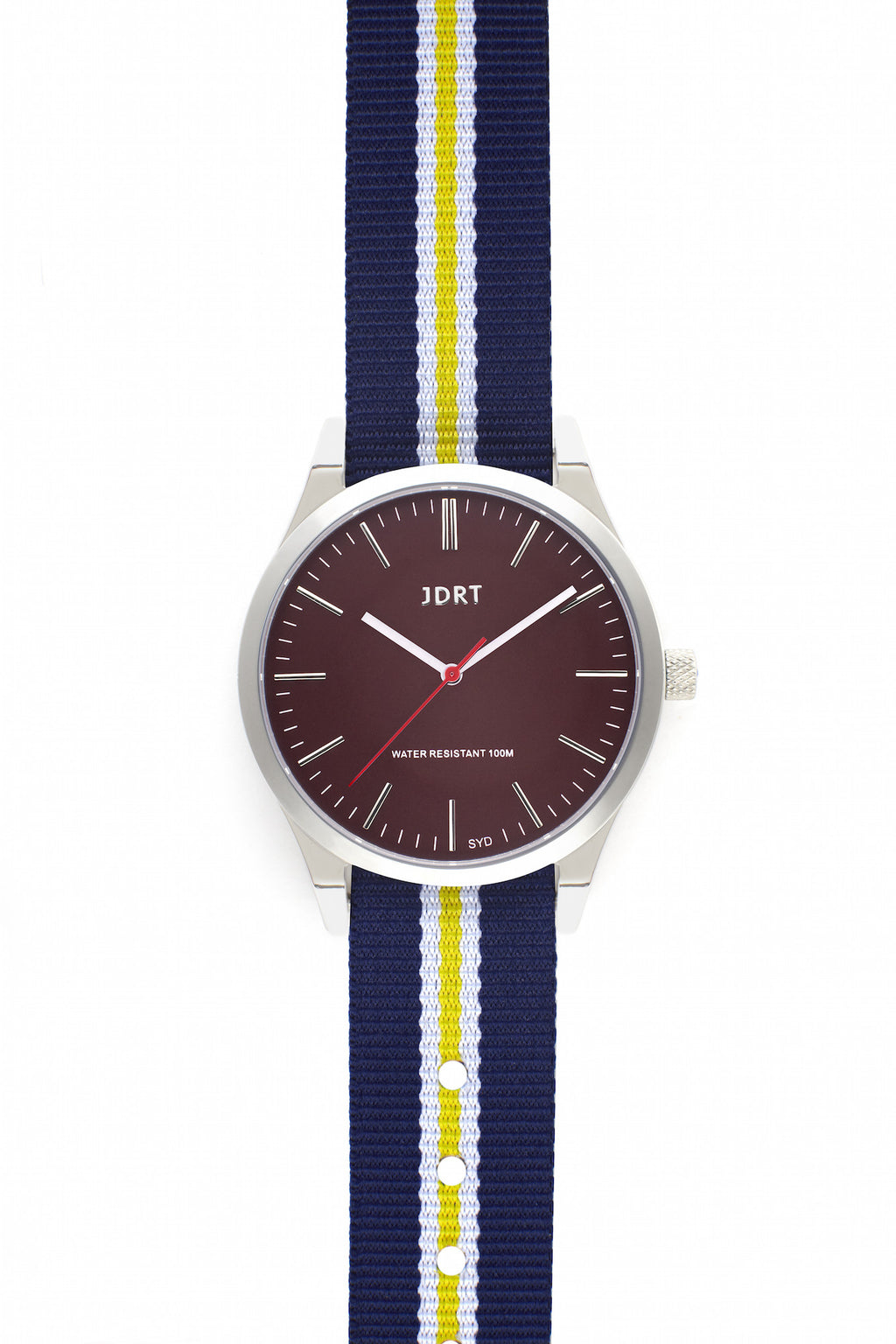 Oxblood Face with Paddington NATO Watch Band