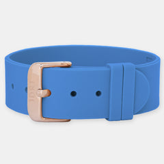 Marina Silicone Strap - Rose Gold Buckle