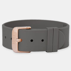 Slate Strap - Rose Gold Buckle