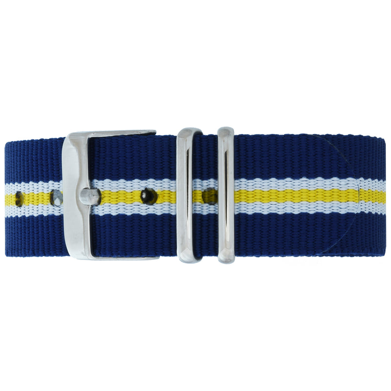 Surry Hills NATO Strap - Silver Buckle