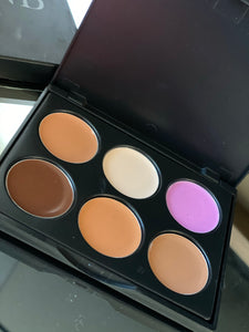 Creamy Contour Palette (Medium To Dark)