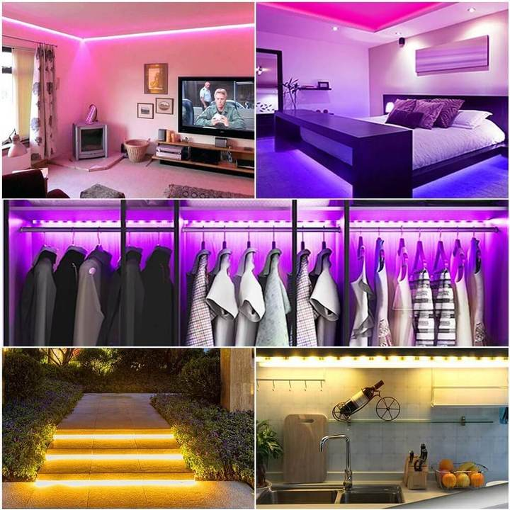 SMART RGB LED STRIP LIGHTS