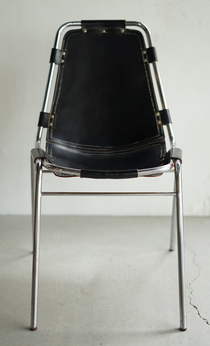 Charlotte Perriand Les Arcs chair Black