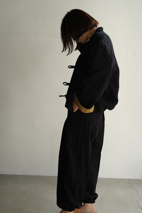 CRISTASEYA<br>JAPANESE TRIPLE GAUZE PATCHED JACKET