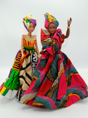 Custom African Royalty Doll 2