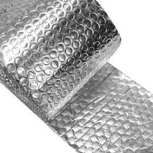 Crinoline Insulated Spiral Pipe Wrap Insulation Bubble Film 6-Inch by 25-Feet