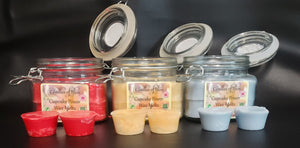 Manly Curve & Chiseled Candles of Bliss Candle