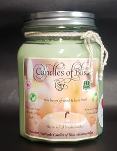Tuxedo Black Candles of Bliss Candle