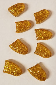 Gold Glitter Fake Nails for Dogs - Official Pet Boutique