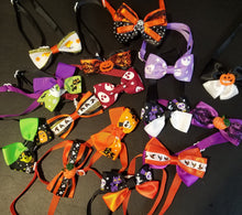 Load image into Gallery viewer, Halloween Pet Neck Bows - Official Pet Boutique