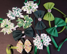 Load image into Gallery viewer, St. Patrick's Neck Bows - Official Pet Boutique