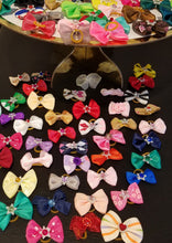"Load image into Gallery viewer, 1.5"" Bling Pet Hair Bows - Official Pet Boutique"