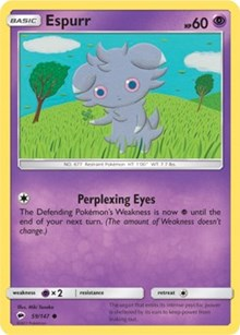 Espurr (59) [SM - Burning Shadows]