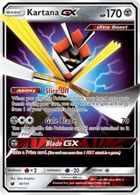Kartana GX (70) [SM - Crimson Invasion]