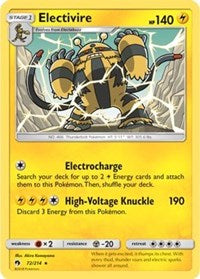 Electivire (72) [SM - Lost Thunder]