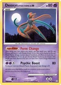 Deoxys Attack Forme (24) [Legends Awakened]