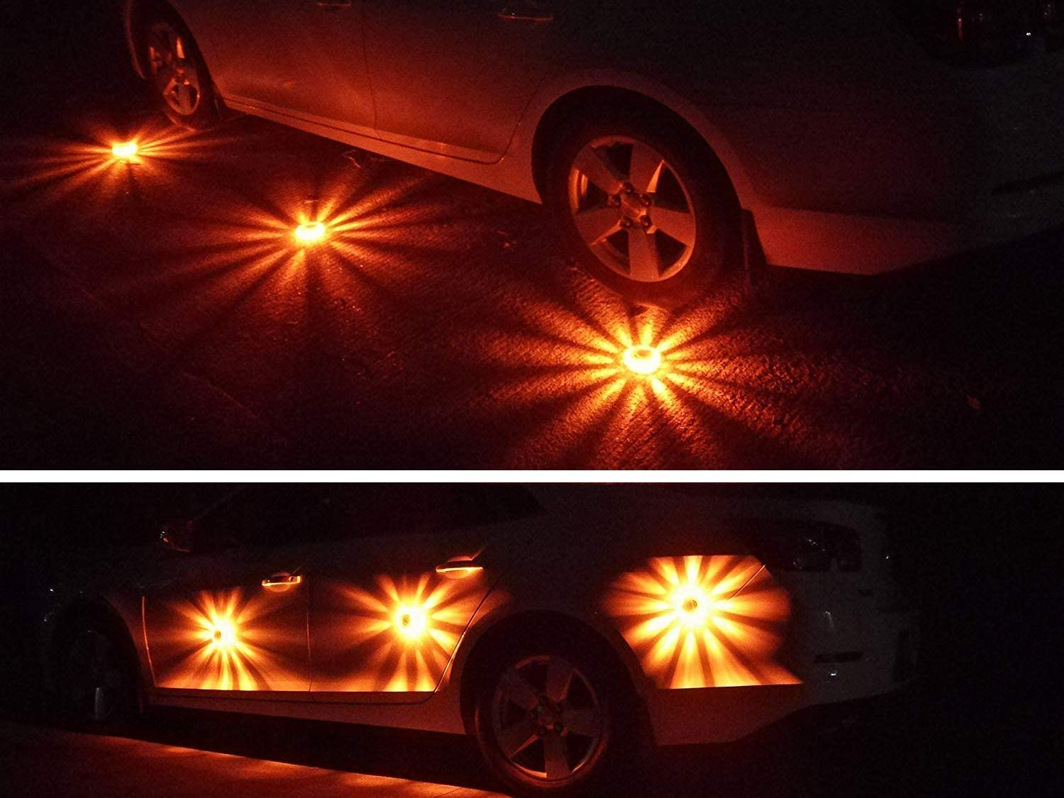 LED Road Flares Blinkendes Warnlicht