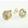 9ct Gold  Studs with Freshwater Pearl