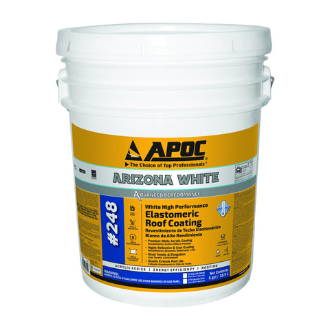 APOC<sup>®</sup> 248 Arizona<sup>®</sup> White High Performance Elastomeric Roof Coating