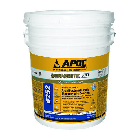 APOC<sup>®</sup> 252 SUNWHITE<sup>®</sup> Premium White Architectural Grade Elastomeric Coating
