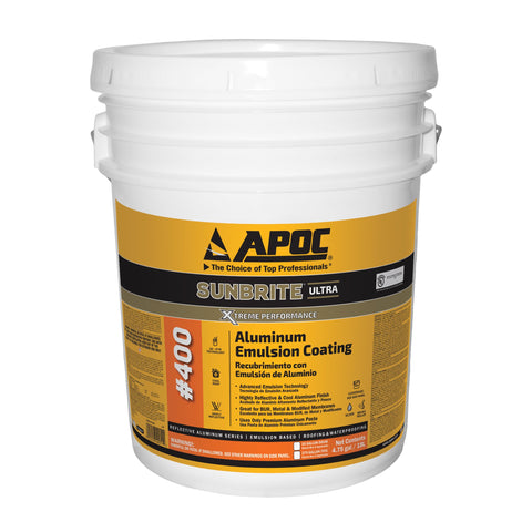 APOC<sup>®</sup> 400 Sunbrite<sup>®</sup> Aluminum Emulsion Coating