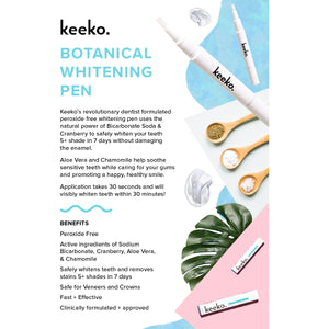 Botanical Teeth Whitening Pen