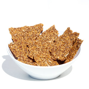 Lemon Chia Crunch Power Crackers
