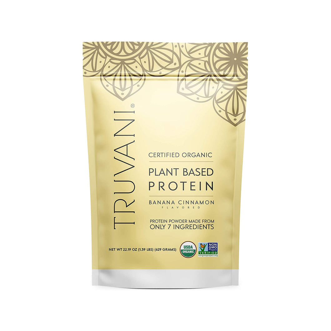 Banana Cinnamon Plant-Based Protein Powder