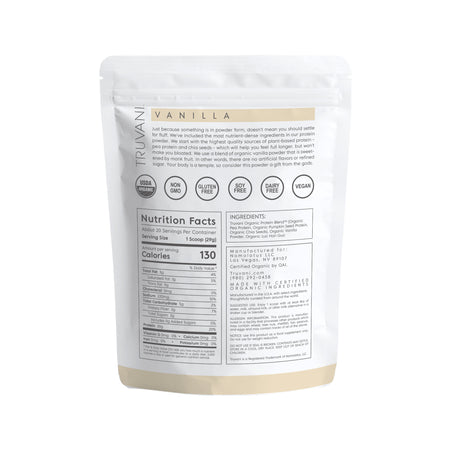 Vanilla Plant-Based Protein Powder