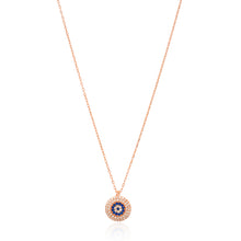 Load image into Gallery viewer, SAPPHIRE GODDESS  EVIL EYE NECKLACE