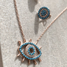 Load image into Gallery viewer, XENA EVIL EYE NECKLACE