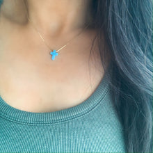Load image into Gallery viewer, Opalite Cross Necklace